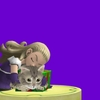 魔勇者アンルシア、猫をもふる