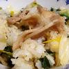 中華風のタレが無敵!豚と小松菜の混ぜごはん