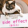 【週末英語#251】ワクチンは英語で「ヴァクシーン」、副反応は「side effect」