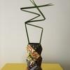 草間彌生折り紙で花瓶カバーを折ってみました