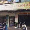 """ハノイのおすすめベトナム料理店""""Chè Bưởi - Bánh Xèo Nam Bộ""""(バインセオ)"""