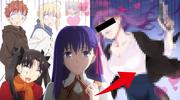 【Fate】間桐桜がマフィアのセクシー幹部になった姿を描いてみた結果…【Fate/stay night】