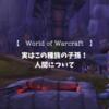 【World of Warcraft】世代を超えて小さく弱くなっていった種族、人間について