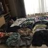 服を整理したわよ