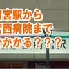 特別編集ムービー『稲沢市「国府宮」駅から一宮西病院まで何分かかる??』を制作しました