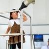大津市科学館で,昼間の金星観察