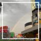 【東京】蒸し暑くなりました!虹が見えたよ!