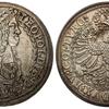 神聖ローマ帝国1680〜86年レオポルド1世ドッペルターラー銀貨NGC MS65