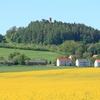 二つの古城を眺める ハーンシュタイン城とルートヴィヒシュタイン城