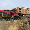 アンゴラで中国援助で設立された鉄道の列車の衝突事故