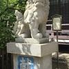 田蓑(たみの)神社のご利益は金運アップ!狛犬さんの足をなでるのがポイントです。