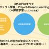 【保存版】2つのPBLの違いとは?ー問題解決型学習・プロジェクト型学習・探究学習ー