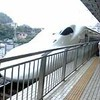 台風接近なのに、台風に向かって・・・・大阪日帰り出張