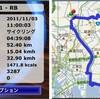 荒川から葛西臨海公園経由江戸川へ 52.4km