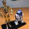 プラモデル製作R2-D2