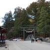 今日の1枚 #635 山輪王寺と二荒山神社の分かれ道
