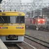 名古屋駅を通るキヤ95とDD51