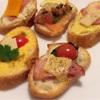 ちょっと贅沢したい時の前菜『カナッペ&ブルスケッタ』を作ってみよう!!