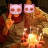 娘たちのお誕生会(*^^*)