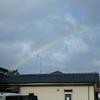 二重虹は幸運のサイン・・・と信じてみる。