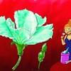 ヒョウタンの花は夜開く