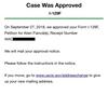 【フィアンセビザ】Approved!!!!!!