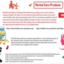 Herbal Care Products