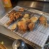 幸運な病のレシピ( 1911 )夜:イワシ、イカ焼き、イカゲソ揚げ、手羽元チューリップ、芋天