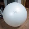 デスクワークの腰痛対策にバランスボールを買いました