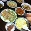雑穀中華料理のパーティ