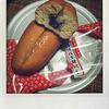 桔梗屋の「桔梗信玄餅揚パン」を食べました。