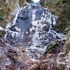 氷瀑を見に、再度紅葉谷へ(その2)百閒滝・似位滝・白石滝・白竜滝