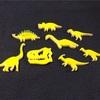 今日はイエロー恐竜
