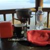 朝は近場で山コーヒー