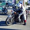 旧ドイツ軍 オートバイ兵 防寒コート