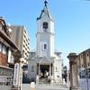 京都ハリストス正教会の聖障(イコノスタス)。見学は可能。