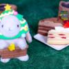 【パーティーケーキ 苺&チョコ 2個入り】ローソン 12月14日(土)新発売、コンビニ スイーツ 食べてみた!【感想】