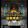 level.1104【マスターズGP】幻魔王杯は厳しいです(T-T)