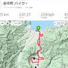 余市ー赤井川バイクコース48km