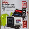 SanDisk Ultra microSDXC UHS-I 128GB (SDSQUAR-128G-GN6MA)のベンチマーク