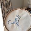 モノグラム刺繍