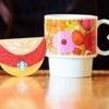 スタバのカップ型カードが可愛すぎる!花柄マグカップの販売店舗はどこ?