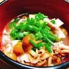 刻み生姜たっぷり我が家のなめこ汁【食事記録】