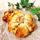 黒豆のお弁当とパン