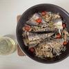 【キャンプ飯】キャンプを豪華に彩るおしゃれな干物のアクアパッツァ 〜夏でも食べれる魚料理〜
