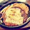 【大国町 ザ・バーグ】300グラムのチーズびっくりハンバーグ をペロリ