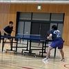 明日は全日本社会人卓球選手権三重県予選