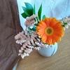 ワンコインでお花の宅配を頼んでみました。