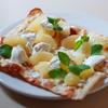 「美生柑(みしょうかん)と水切りヨーグルトのピザ」のご紹介