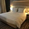 フランクフルト国際空港のホテル紹介:Hilton Frankfurt Airport ※バリアフリールームに宿泊。